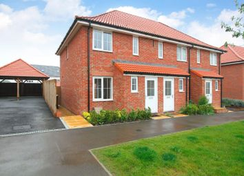 Thumbnail 2 bedroom end terrace house for sale in Central Boulevard, Aylesham, Canterbury