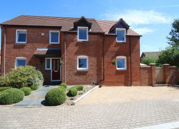 Thumbnail 4 bed detached house for sale in Bremen Grove, Shenley Brook End, Milton Keynes