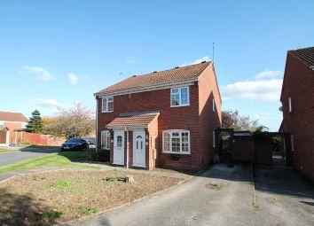 Thumbnail 2 bed semi-detached house for sale in Prestbury Close, Oakwood, Derby
