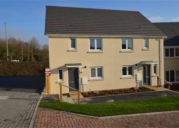 Thumbnail 3 bedroom semi-detached house to rent in Chariot Drive, Kingsteignton, Newton Abbot, Devon.