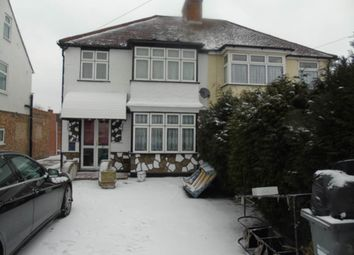 Thumbnail 4 bed flat to rent in Durham Avenue, Heston