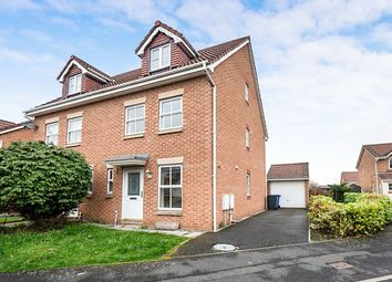 Thumbnail 3 bed semi-detached house to rent in Foxfold Close, Worsley, Manchester