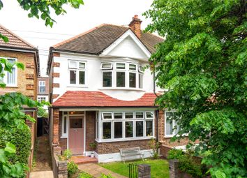 Thumbnail 3 bed semi-detached house for sale in Kirkstall Road, Streatham, London