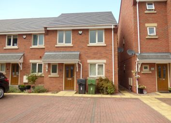 Thumbnail 3 bedroom end terrace house to rent in Regal Gardens, Bromsgrove