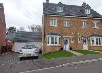 Thumbnail 4 bed semi-detached house for sale in Trem Gwlad Yr Haf, Coity, Bridgend