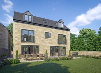 Thumbnail 5 bed detached house for sale in Plot 8, Station Road, Norwood Green, Halifax