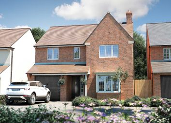 "Thumbnail 4 bed detached house for sale in ""The Buckland"" at Roman Road, Bobblestock, Hereford"