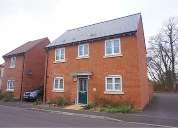 Thumbnail 3 bed detached house for sale in Bluebell Way, Salisbury