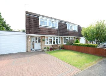 Thumbnail 3 bed semi-detached house for sale in Ashley Close, Earley, Reading