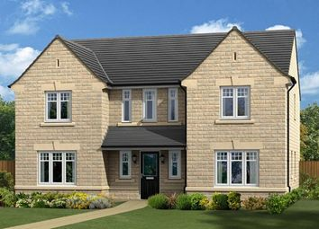 "Thumbnail 5 bed detached house for sale in ""The Edlingham"" at Burn Road, Huddersfield"