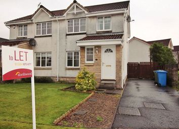 Thumbnail 3 bed semi-detached house to rent in Corona Crescent, Bonnybridge