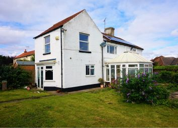 Thumbnail 4 bed end terrace house for sale in Wansford, Driffield
