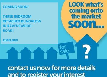 Thumbnail 3 bed detached bungalow for sale in Ravenswood Road, Burgess Hill