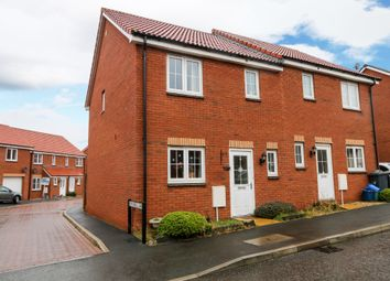 Thumbnail 3 bedroom semi-detached house for sale in St. Michaels Way, Cranbrook, Exeter