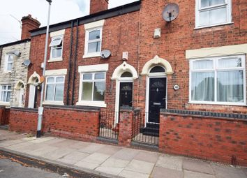Thumbnail 2 bed terraced house to rent in Burgess Street, Burslem, Stoke-On-Trent