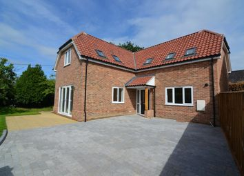 Thumbnail 3 bed detached house for sale in High Road, Trimley St. Mary, Felixstowe