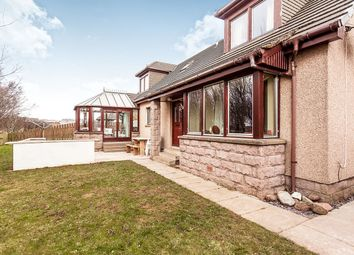 Thumbnail 4 bed detached house for sale in Croftlands, St. Cyrus, Montrose