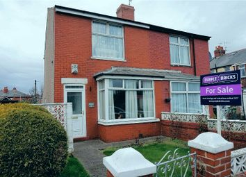 Thumbnail 2 bed semi-detached house for sale in Harris Avenue, Blackpool