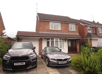 Thumbnail 3 bed detached house for sale in Chessington Crescent, Trentham, Stoke-On-Trent