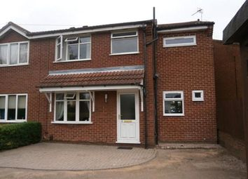 Thumbnail 3 bed semi-detached house to rent in Castle Rise, Groby, Leicester, Leicestershire
