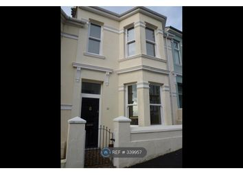 Thumbnail 3 bed terraced house to rent in Rosebery Avenue, Plymouth