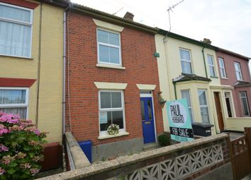 Thumbnail 2 bed terraced house for sale in County Villas, Milton Road East, Lowestoft