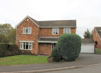 Thumbnail 4 bed detached house for sale in Pendlebury Drive, Mickleover, Derby