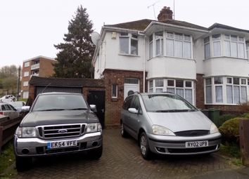 Thumbnail 3 bedroom semi-detached house to rent in Meyrick Avenue, Luton, Bedfordshire