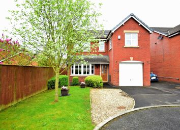 Thumbnail 4 bed detached house for sale in Linden Close, Clifton, Preston