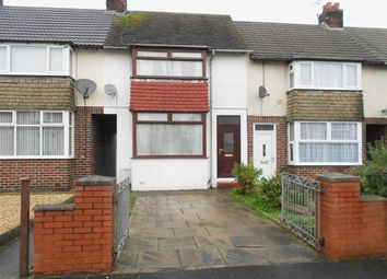 Thumbnail 3 bed terraced house for sale in Micklewright Avenue, Crewe, Cheshire