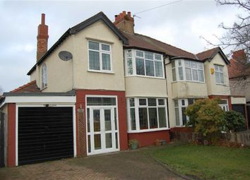 Thumbnail 3 bed semi-detached house for sale in Elmwood Avenue, Crosby, Liverpool