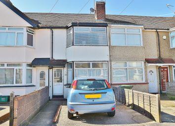 Thumbnail 2 bed terraced house for sale in Eversley Avenue, Barnehurst, Kent