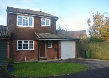 Thumbnail 3 bedroom detached house to rent in Woodside Gardens, Chineham, Basingstoke