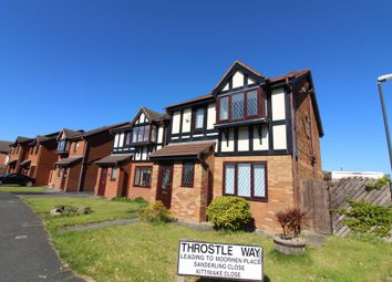 Thumbnail 3 bedroom detached house for sale in Swan Drive, Cleveleys