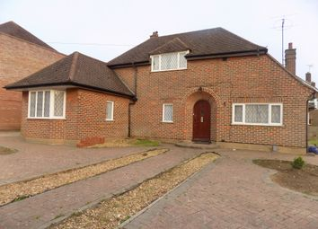 Thumbnail 4 bed detached house to rent in Kingsdown Avenue, Luton, Bedfordshire LU27Bu