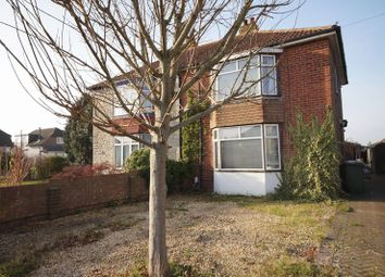 Thumbnail 3 bedroom semi-detached house for sale in Neville Avenue, Portchester, Fareham