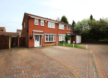 Thumbnail 3 bed semi-detached house for sale in Epsom Close, Bedworth
