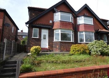 Thumbnail 3 bed semi-detached house for sale in Woodstock Drive, Swinton, Manchester, Greater Manchester