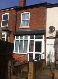 Thumbnail 2 bedroom terraced house to rent in Hill Grove, Wellington Road, Handsworth, Birmingham