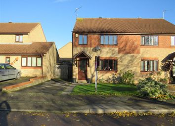 Thumbnail 3 bed semi-detached house for sale in De Ferneus Drive, Raunds, Wellingborough