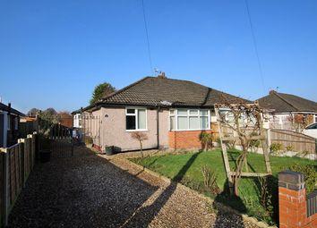Thumbnail 2 bed semi-detached bungalow for sale in Avon Road, Culcheth, Warrington