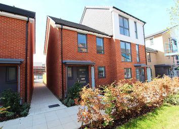 Thumbnail 3 bed terraced house to rent in Woolhampton Way, Kennet Island, Reading