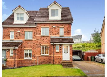 Thumbnail 3 bed town house for sale in Reddingrig Place, Falkirk