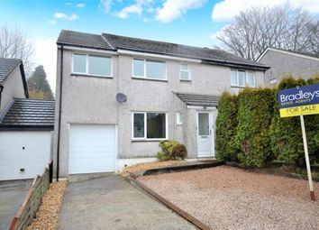 Thumbnail 4 bed semi-detached house for sale in Willow Close, Callington, Cornwall