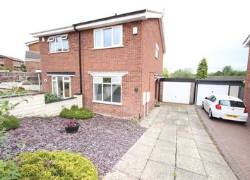 Thumbnail 2 bed semi-detached house to rent in Pensford Grove, Birches Head, Stoke-On-Trent