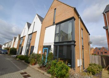 Thumbnail 4 bedroom town house for sale in Loughborough Drive, Broughton, Milton Keynes