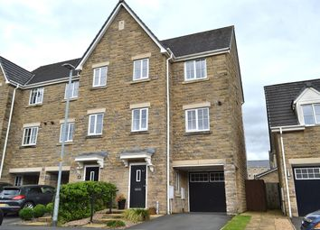 Thumbnail 3 bed town house for sale in Spring Mill Drive, Mossley, Ashton-Under-Lyne