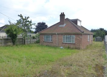 Thumbnail 5 bed detached bungalow for sale in Grove Avenue, New Costessey, Norwich