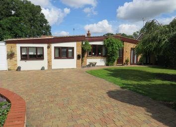 Thumbnail 4 bedroom detached bungalow for sale in Conington Lane, Conington, Peterborough