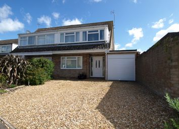 Thumbnail 3 bed semi-detached house for sale in Browning Close, Newport Pagnell, Buckinghamshire
